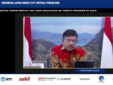Indonesia - Japan Smart City Forum 2020